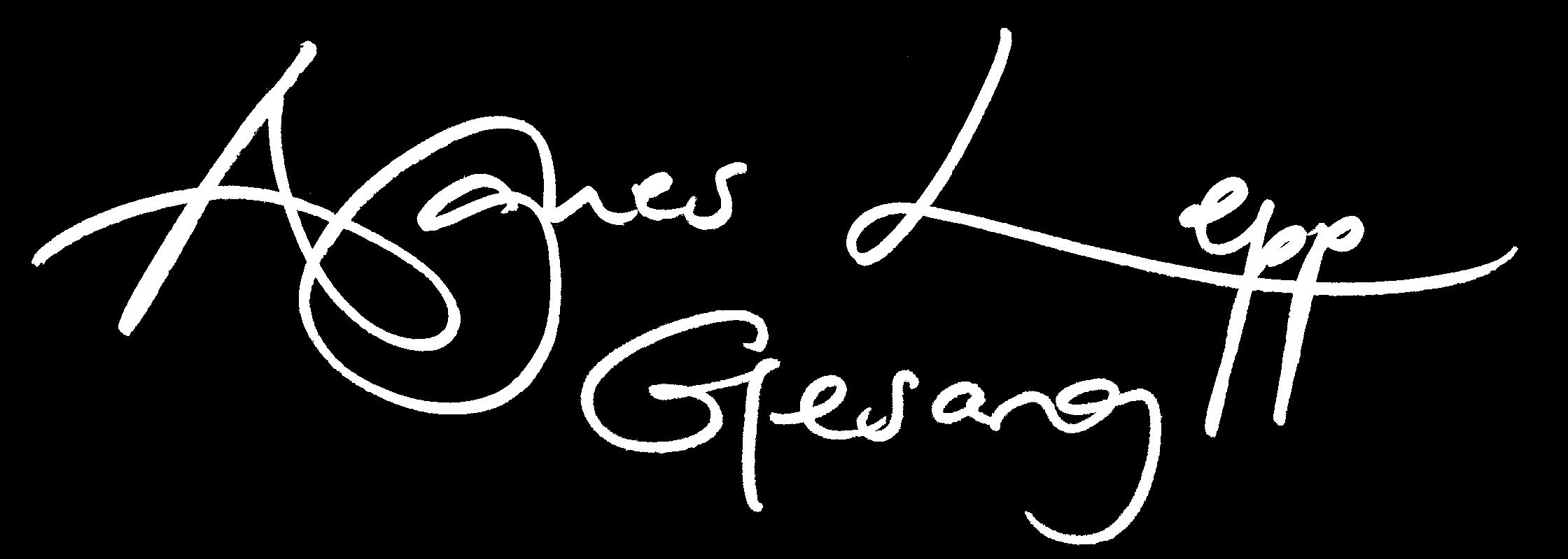 Logo Agnes Lepp